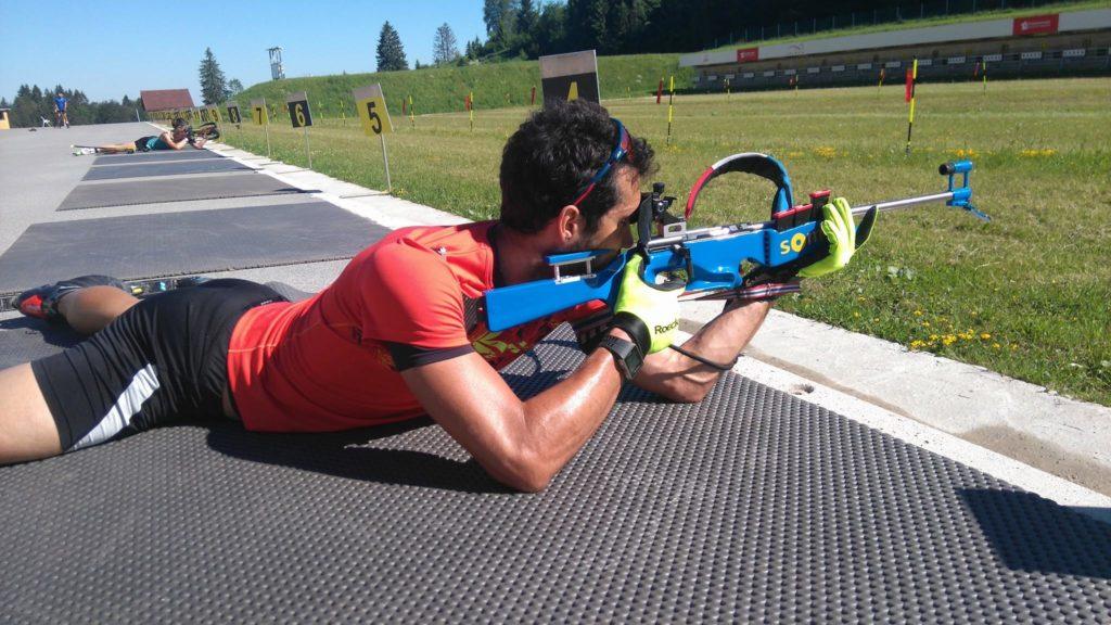 Martin Fourcade ski-roue biathlon