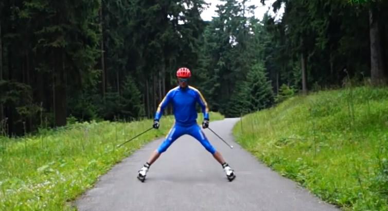 frein ski-roue