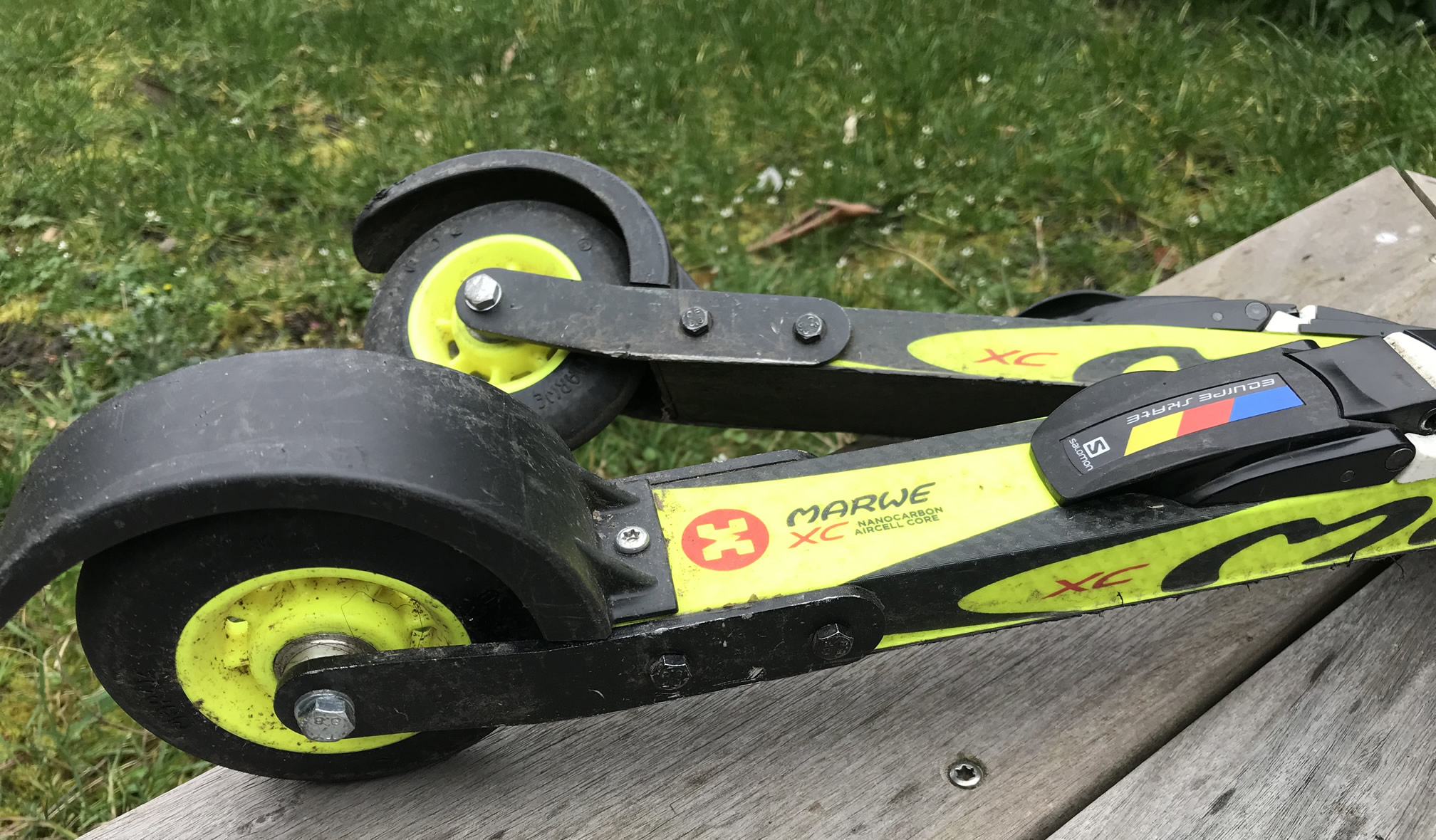 ski-roue occasion