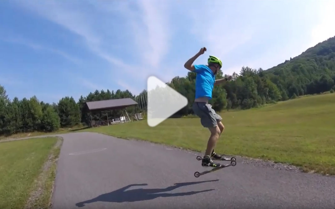 Ski-roue freestyle : le 360