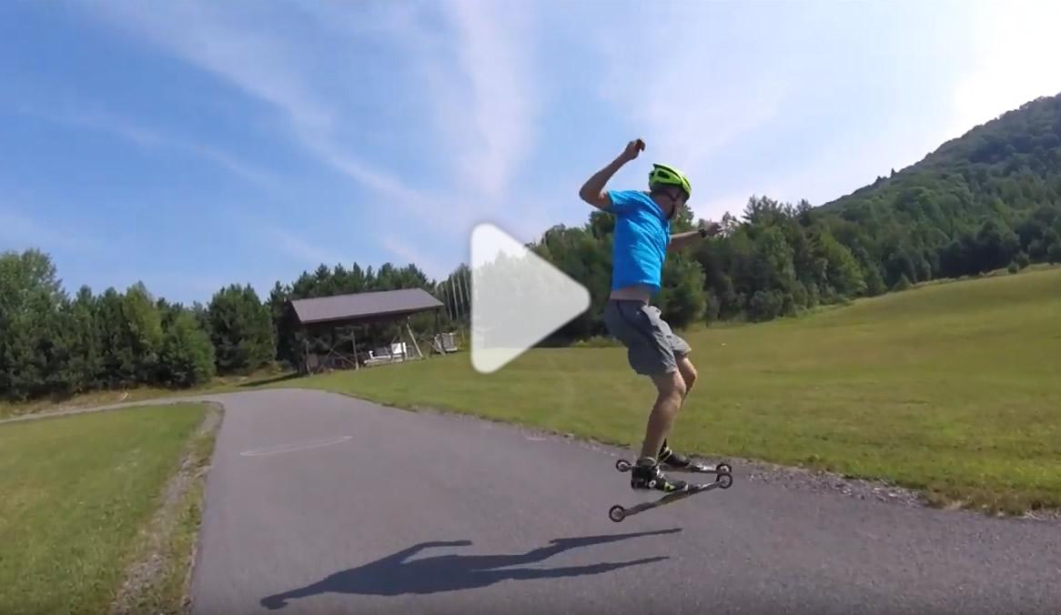 ski-roue video 360
