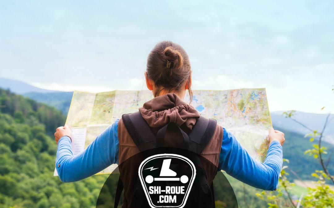Où pratiquer le ski-roue ? Tous les parcours sur ski-roue.com !