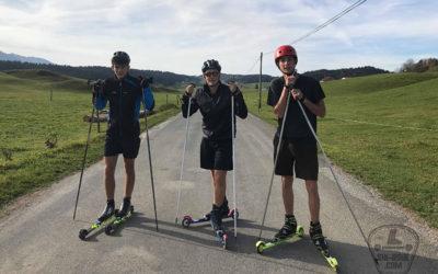 3 étudiants s'apprêtent à traverser l'Ecosse en ski-roue et en autonomie.