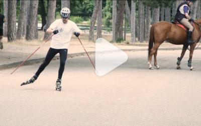 Vidéo : on a testé les ski-roue Decathlon !