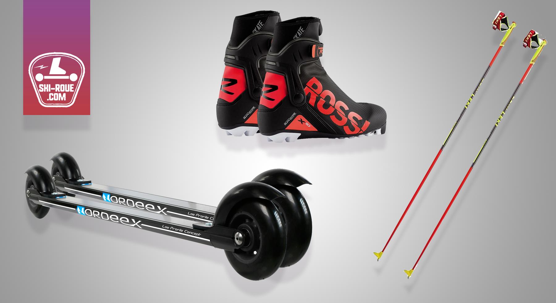 Pack ski-roue Noël