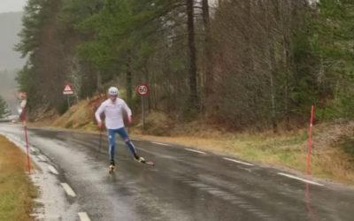Le ski-roue sous la pluie, c'est possible ?