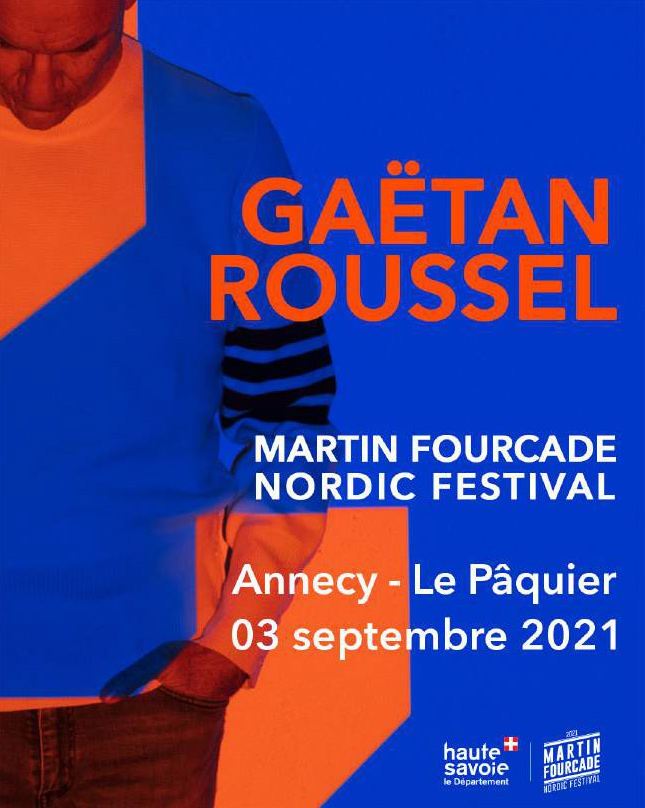 Gaetan Roussel au Martin Fourcade Nordic Festival